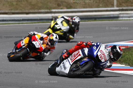 Jorge Lorenzo wins Czech MotoGP