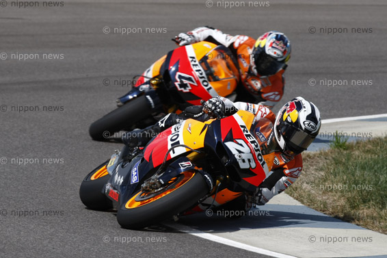Pedrosa wins Indianapolis GP