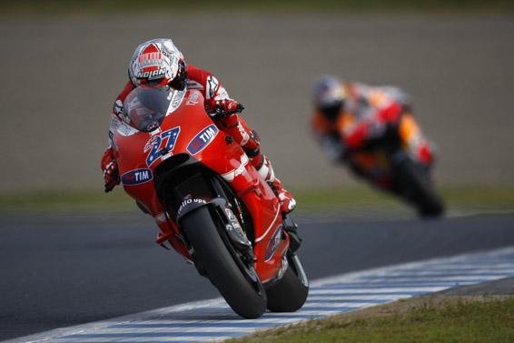 Stoner wins MotoGP Japan