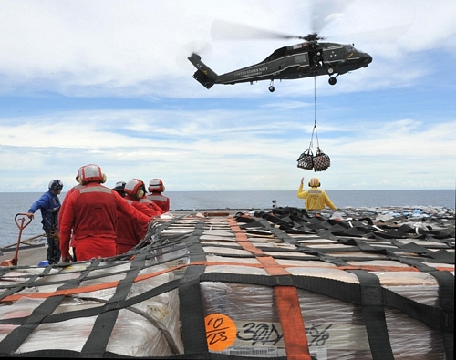 US Navy Prepares for Earthquake Relief Effort