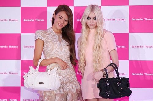 Taylor Momsen Promotes Samantha Thavasa