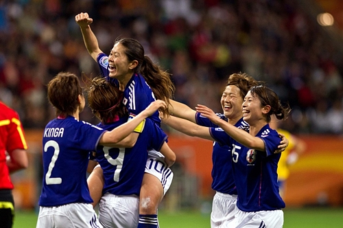 Japan Ladies Reach World Cup Final