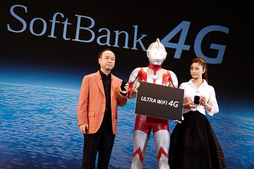 Softbank Launches New Smartphones