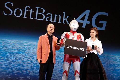 Softbank Launches New Smartphones