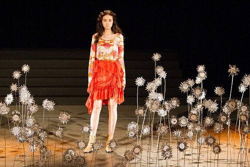 (English) HISUI – Mercedes-Benz Fashion Week Tokyo 2012 Spring/Summer