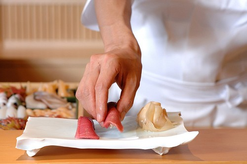 The Japanese Art of Making Sushi