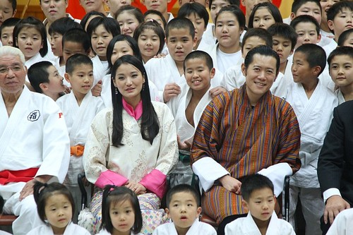 Bhutan's Royal Couple visits Japan