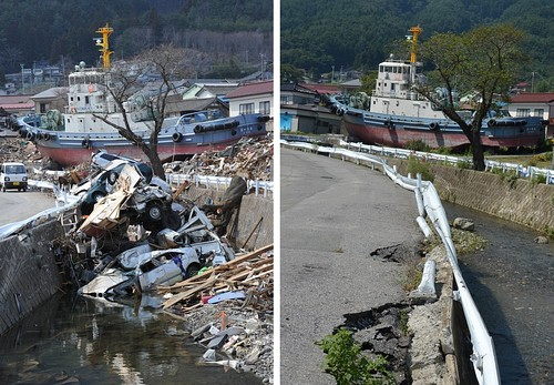 Now and Then – Six Months after the 3.11 Earthquake