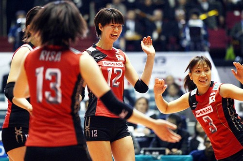 FIVB Women's Volleyball World Cup 2011 : Japan 3-0 Kenya