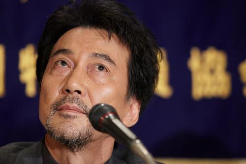 "Koji Yakusho Promotes ""Admiral Yamamoto"""
