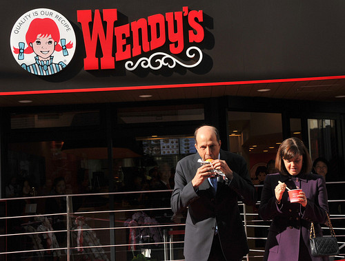 Wendy's Reopens in Tokyo