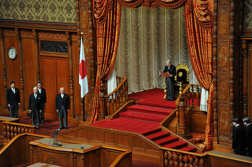 Emperor Akihito Opens Japan's Parliament
