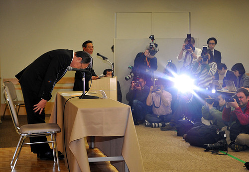 Olympus Press Conference with President Shuichi Takayama