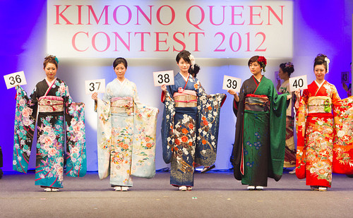 Kimono Queen Contest 2012