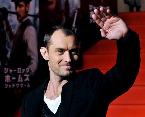 """Sherlock Holmes: A Game of Shadows"" Japan Premiere"