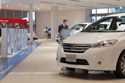 Nissan motor co ltd fy11 q3 financial results nippon for Nissan motor co ltd