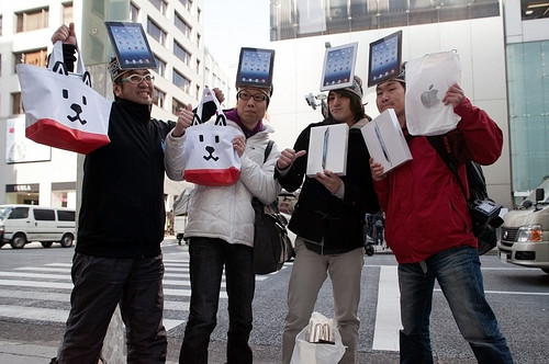 New Apple iPad 3 Goes On Sale in Japan