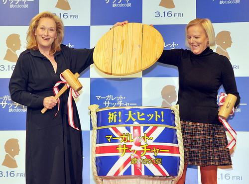 "Three-time Academy Award Winner Meryl Streep Promotes ""The Iron Lady"" in Tokyo"