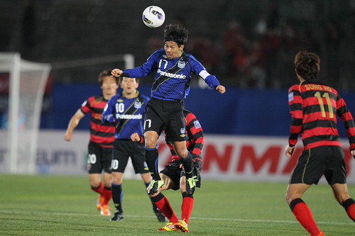 AFC Champions League 2012 Qualifying Round: Gamba Osaka 0-3 FC Pohang Steelers