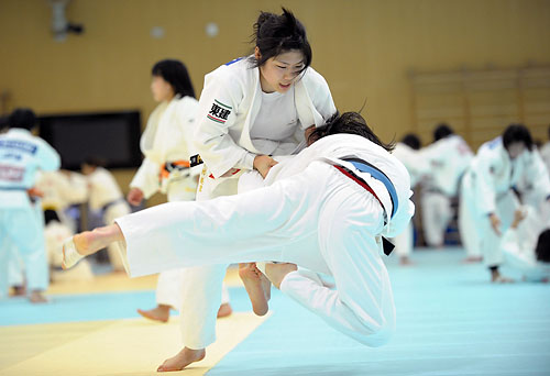 Judo Japanese Women's National Team Training