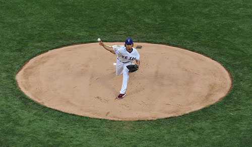 Yu Darvish in Action