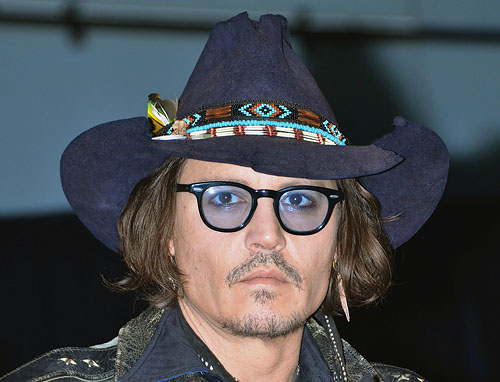 "Johnny Depp ""Dark Shadows"" Press Conference"