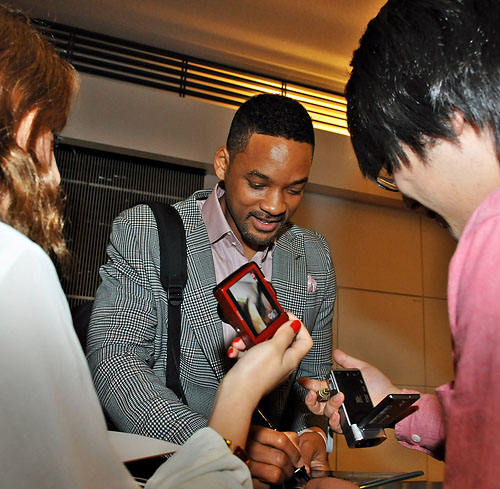 Will Smith and Family Arrives at Haneda International Airport