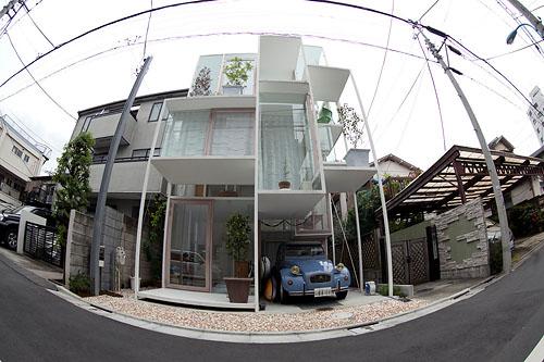 "The Transparent ""House NA"" Designed by Sou Fujimoto"