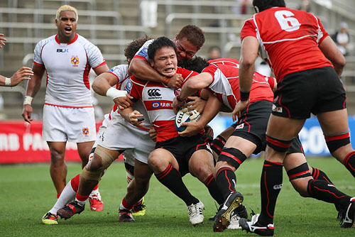 IRB Pacific Nations Cup 2012 – Japan 20-24 Tonga