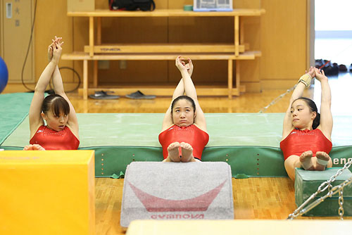 (English) Japan Women's National Team Training for London Olympics