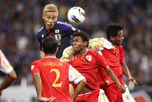(English) FIFA World Cup Brazil 2014 Asian Qualifier: Japan 3-0 Oman