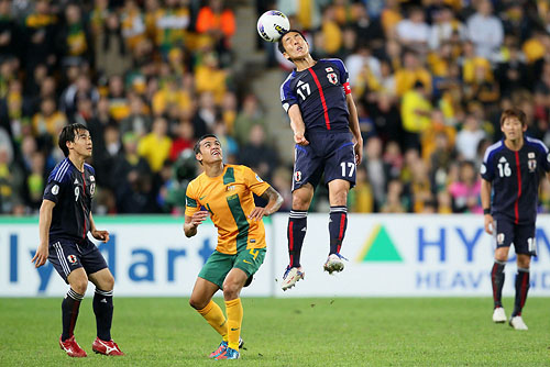FIFA World Cup Brazil 2014 Asian Qualifier Final Round: Australia 1-1 Japan