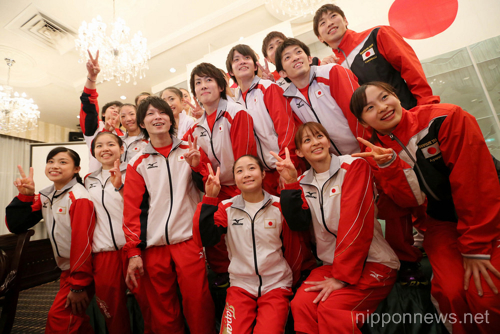 (English) Send-off Ceremony for the London Olympic in Tokyo, Japan