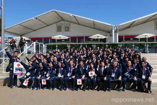 London Olympics 2012 Japanese Team Welcoming Ceremony