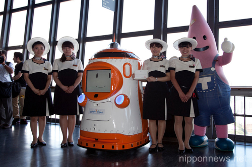 """Tawabo"" the robot guide of Tokyo Tower"