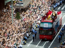 Massive Parade to Honor Japan's Returning Medalists from the 2012 Olympics