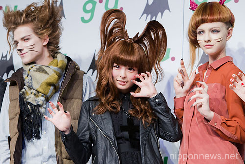 """Kyary Pamyu Pamyu"" New Image Character for g.u. 2012 Fall/Winter Season"