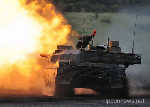 "Self-Defense Forces' Joint Live-Fire Exercise ""Fire Power 2012"""