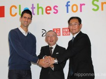 "Novak Djokovic and UNIQLO Announces ""Clothes for Smiles"""