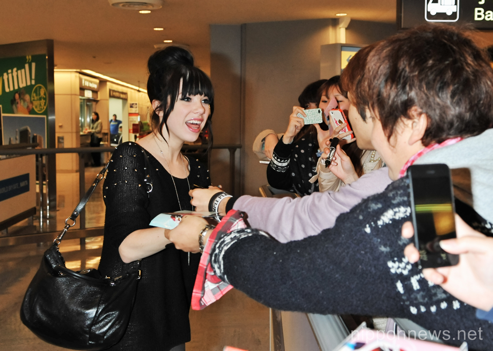 Carly Rae Jepsen in Japan