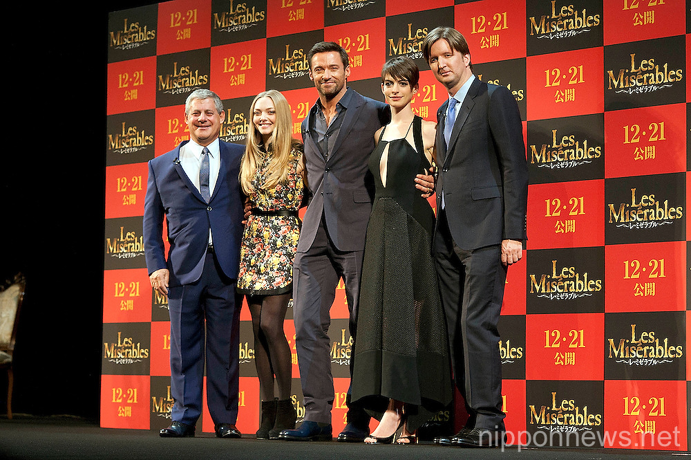 Les Miserables Promotional Event in Tokyo