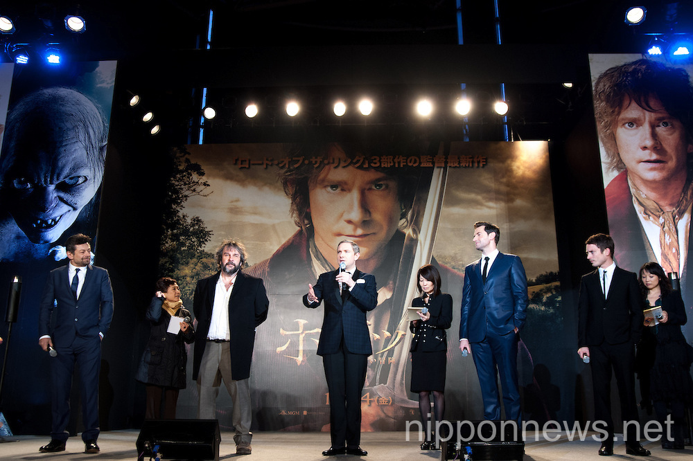 """The Hobbit – An Unexpected Journey"" Japan Premiere"