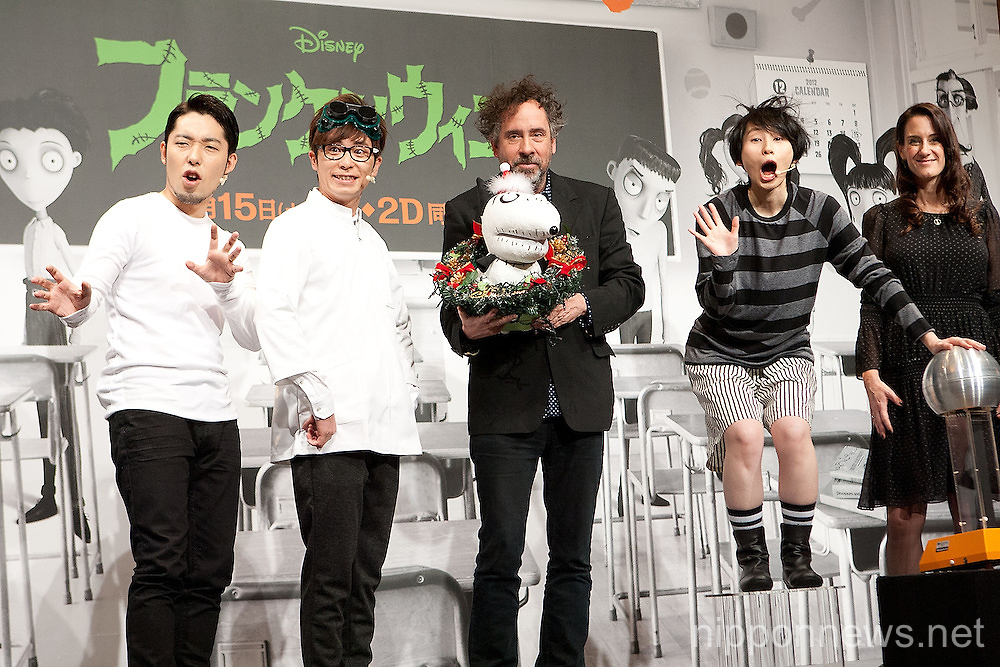 Frankenweenie Press Conference