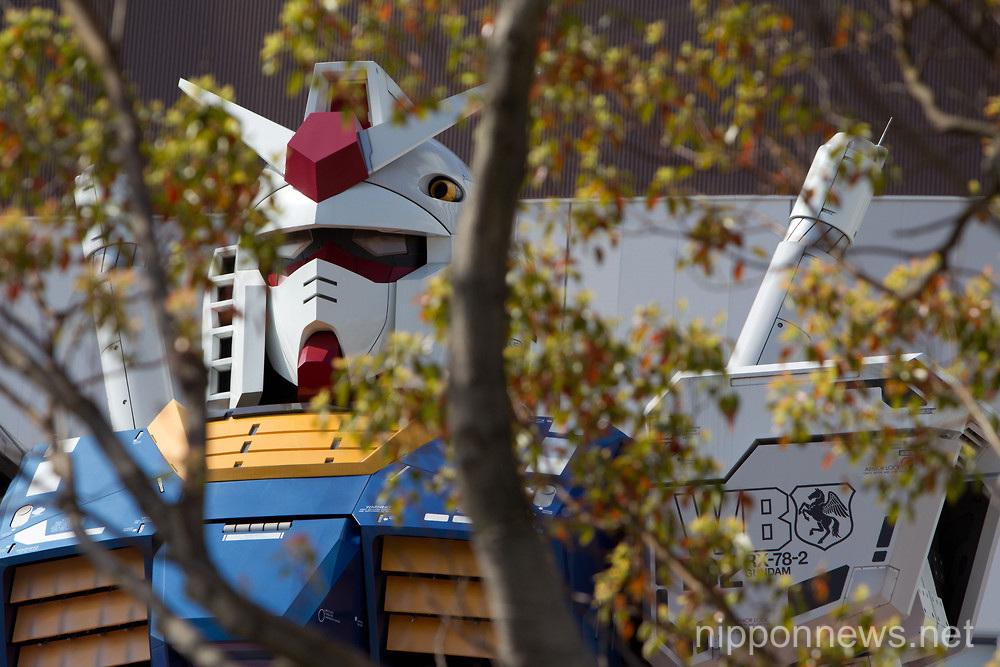 Giant Gundam Robot in Tokyo