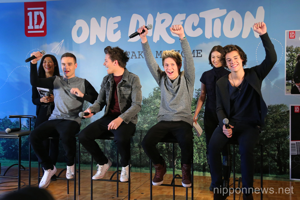 One Direction first visit to Japan