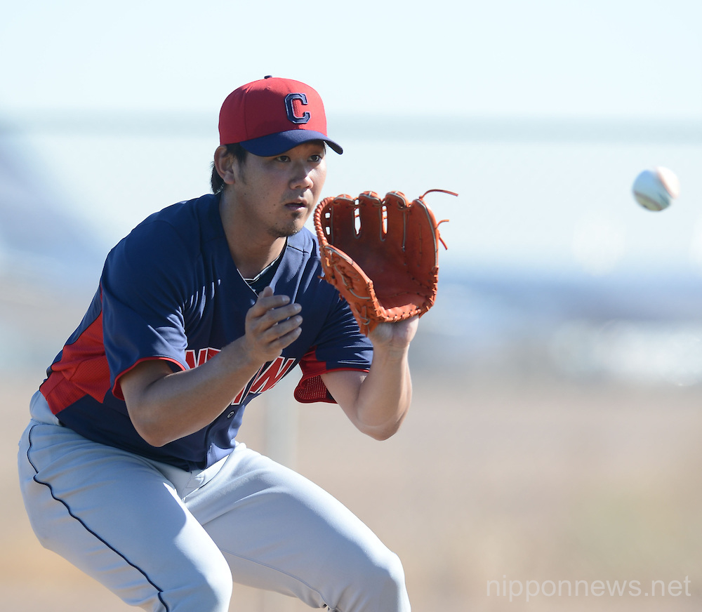 Cleveland Indians new signing pitcher Daisuke Matsuzaka