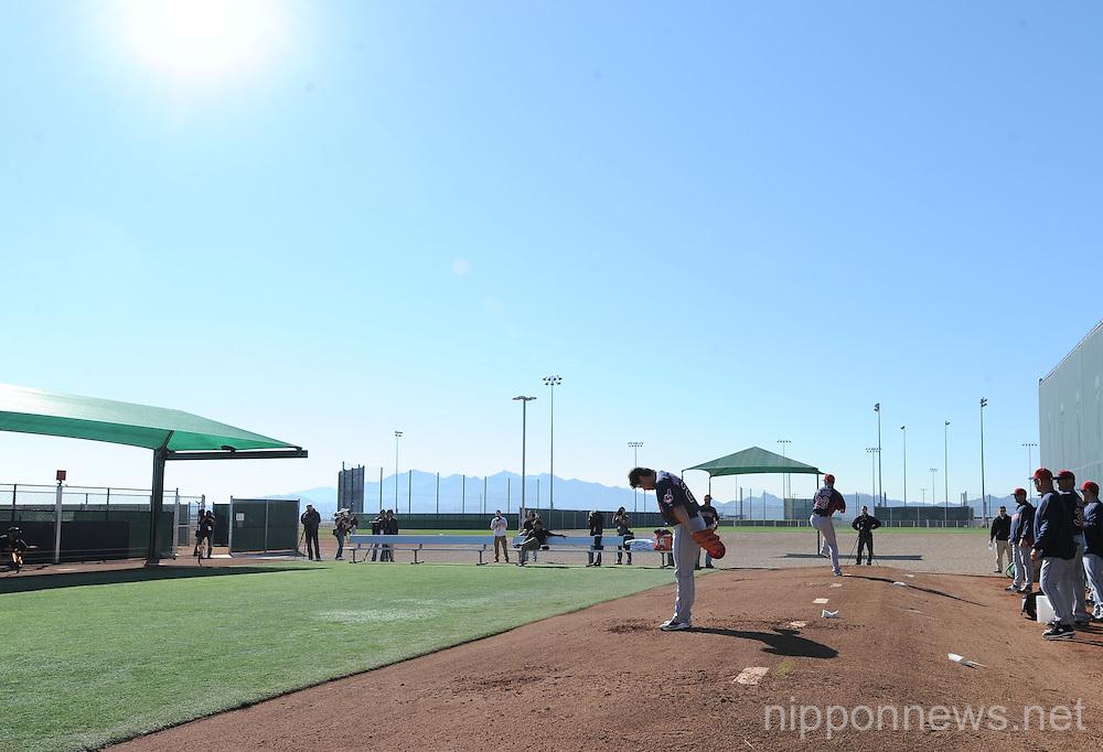Cleveland Indians Signs New Pitcher Daisuke Matsuzaka