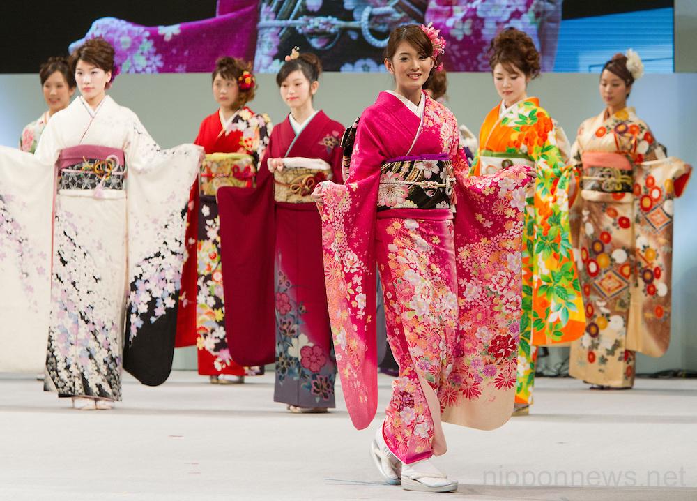 Kimono Queen Contest 2013