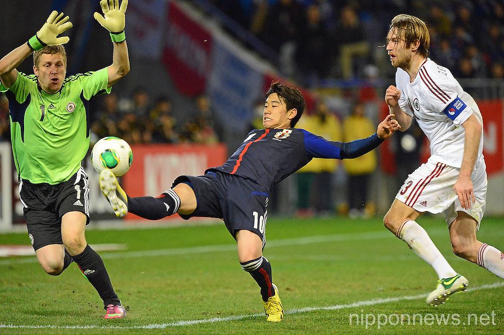 KIRIN Challenge Cup 2013 - Japan 3-0 Latvia