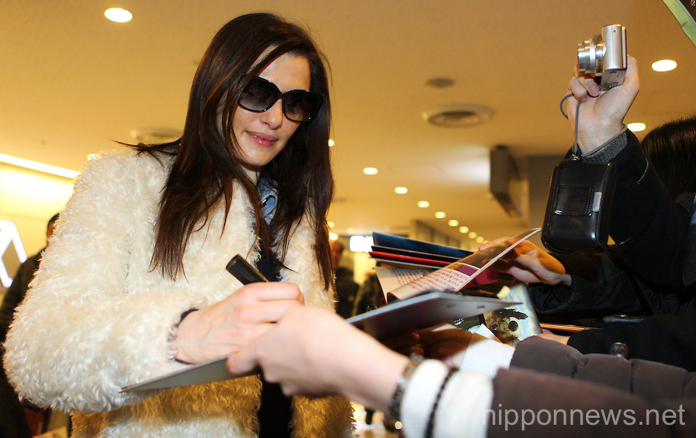 Rachel Weisz Arrives in Japan